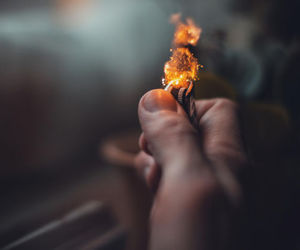fire, grunge, and lighter image