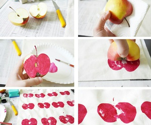 apple, craft, and diy image