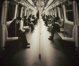 photography, work, and subway image