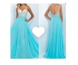 dress, vestidos, and xv image
