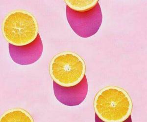 pink, background, and orange image