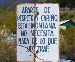 frases, nature, and montaña image