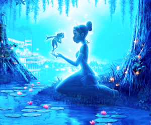disney and the Princess and the frog image