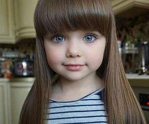 girl, baby, and beautiful image