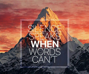 quotes, mountains, and words image