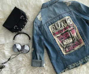 punk, clothes, and fashion image