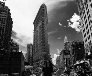 flatiron building, new york, and nyc image