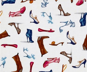 background, pattern, and shoes image