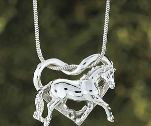 heart, jewelry, and sterling silver image