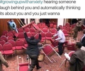 anxiety, funny, and growingupwithanxiety image