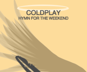 coldplay and hymn for the weekend image