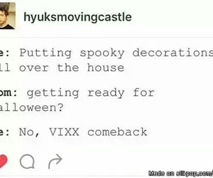 vixx, kpop, and Halloween image