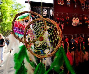 photography, Dream, and dream catcher image