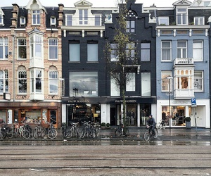 amsterdam, street, and architecture image