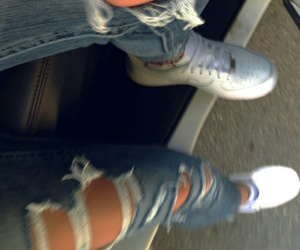 nike, jeans, and tumblr image