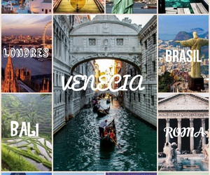 bali, travel, and venecia image