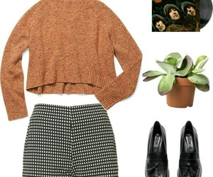beatles, Polyvore, and style image