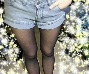 black, hip bones, and fashion image