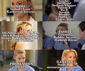 greys anatomy and izzie stevens image