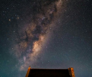 home, light, and milky way image