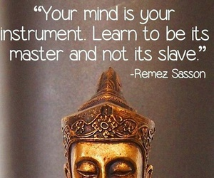 Buddha, instrument, and learn image