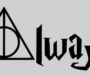 always, symbol, and harry potter image