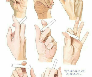 anime, hands, and fav image