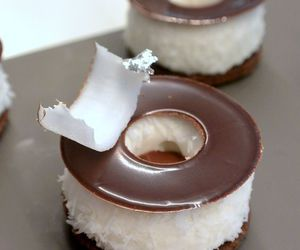 chocolate, coconut, and delicious image