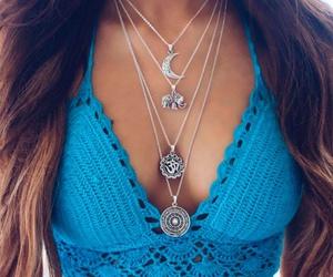 necklace, fashion, and boho image