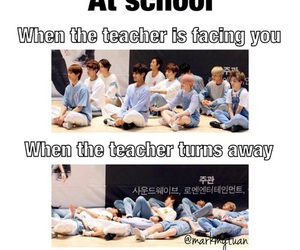 kpop, Seventeen, and funny image