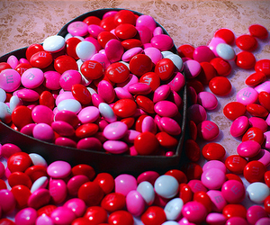heart, pink, and candy image