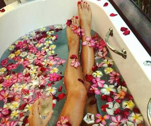 legs and bath image
