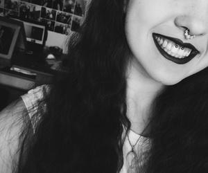 girl, grunge, and smiley image