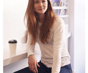bonnie wright, ginny weasley, and harry potter image