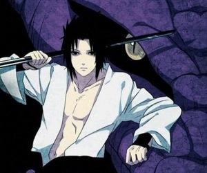sasuke, naruto, and uchiha image