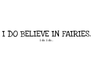 Fairies, peter pan, and believe image