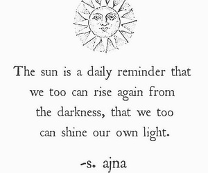 life, quote, and sun image