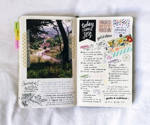 journal, motivation, and notes image