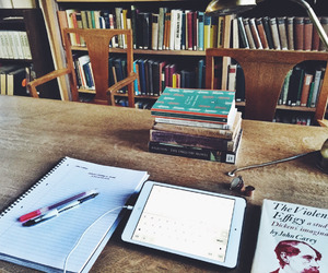 book, school, and university image
