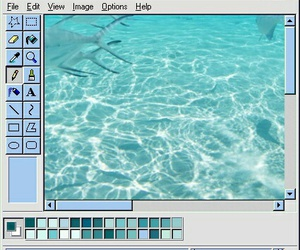 blue, aesthetic, and edit image