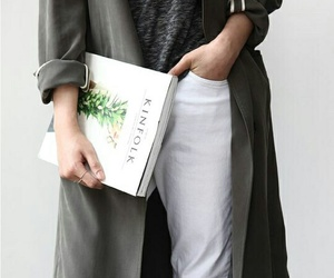 clothes, grey, and fashion image