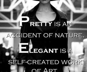 quotes, pretty, and elegant image