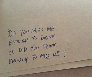 quotes, drink, and sad image