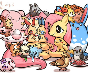 adorable, pokemon, and cute image
