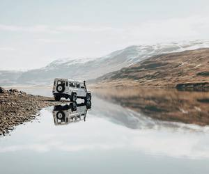adventure, landrover, and mountains image