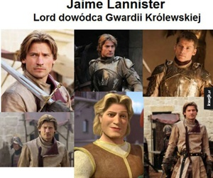 jamie, got, and game of thrones image