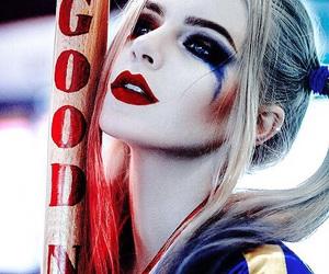 cosplay, girl, and harley quinn image