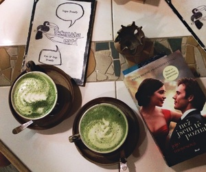 book, cafe, and chill image
