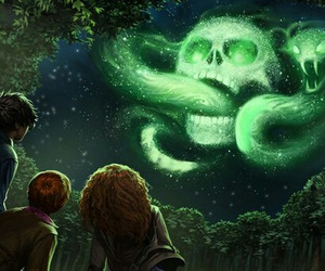 harry potter, voldemort, and hermione granger image