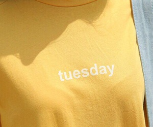 yellow, tuesday, and tumblr image